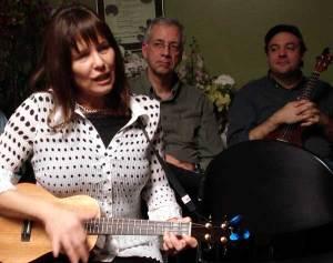 Kathie singing
